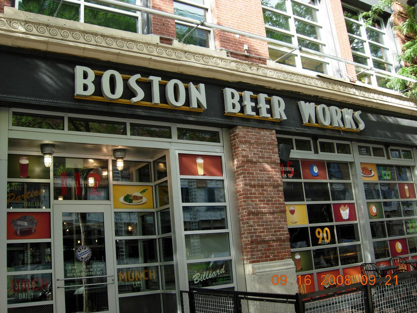 Food Near Theater District Boston