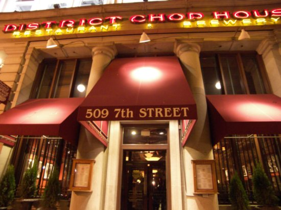 District Chophouse Dc Restaurant Week Menu